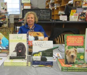 Allen and Linda Anderson at Magers and Quinn Booksellers.