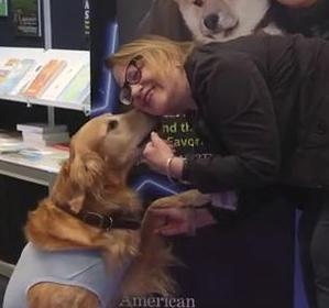 Hudson Kissing a New Friend